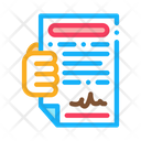 Courier Agreement Delivery Icon