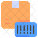Courier Barcode Icon