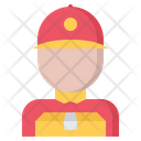 Courier boy Icon