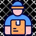 Courier Boy Icon