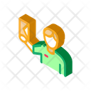 Delivery Service Courier Icon