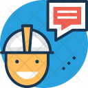 Courier Messenger Conveyer Icon