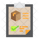 Courier Checklist Delivery Details Delivery Icon