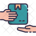 Courier Delivery Package Icon