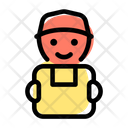 Courier Delivery Courier Man Delivery Boy Icon
