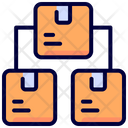 Distribution Logistic Packaging Icon