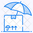 Courier Insurance Parcel Protection Parcel Safety Icon