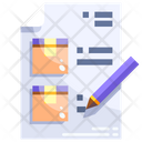 Courier list Icon