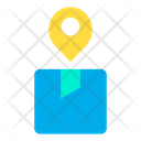 Courier Location Courier Address Icon