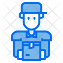 Courier Delivery Delivery Man Icon
