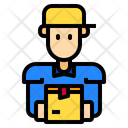 Courier Man Icon