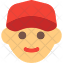 Courier Man Delivery Boy Courier Boy Icon
