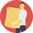 Courier Service Logistics Icon