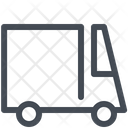 Courier Car Goods Icon