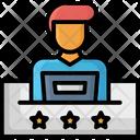 Course Freelancer Presentation Icon