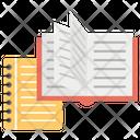 Courses Content Books Icon