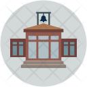 Court Law House Icon