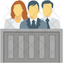 Court Courtroom Judge Icon