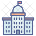 Courthouse Government Building Icon