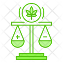 Marijuana Cannabis Law Icon