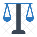 Court Law Balance Icon