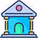 Court Legal Department Justice Icon