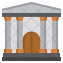 Court Courthouse Justice Icon