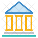 Court Building Justice Icon
