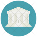 Law Building Court Icon