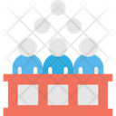 Court Audience Court Audience Icon