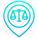 Pin Court Court Location Icon