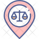 Court Map Marker Icon