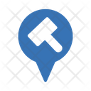 Court Location Court Law Icon