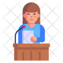 Court Speech Icon