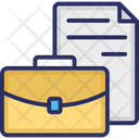 Court Warrant Decree Documentation Icon