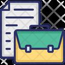 Court Warrant Decree Documentation Icon