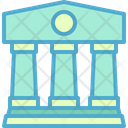 Court Courthouse Building Icon