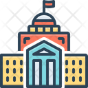 Courthouse Federal Building Icon
