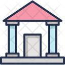 Courthouse Court Institute Icon