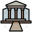 Courthouse Law Justice Icon