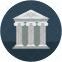 Courthouse Law Court Icon
