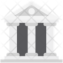 Courthouse Bank Building Icon