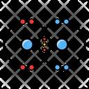 Covalent Bond Chemical Bond Chemistry Icon