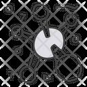 Chemical Bonding Covalent Bond Molecular Bond Icon