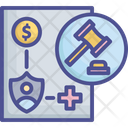 Coverage Enforce Law Icon