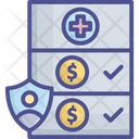 Compensation Coverage Fee Icon