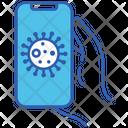 Covid App Smartphone Icon