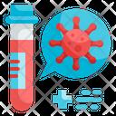 Covid Blood Sample Icon