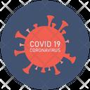 Covid Coronavirus Icon
