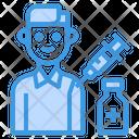 Covid Patient Patient Vaccination Icon